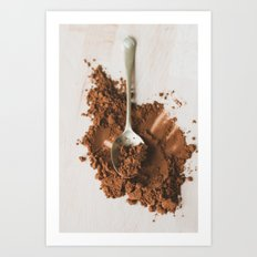 All of the chocolate Art Print