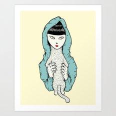 Strange Cathy Art Print