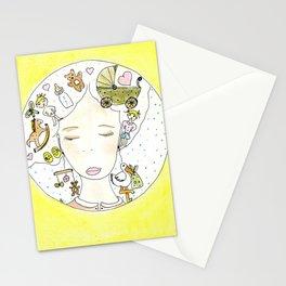 Pensieri di mamma Stationery Cards