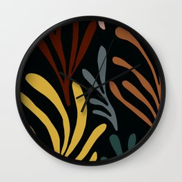 nature flow #1 Wall Clock