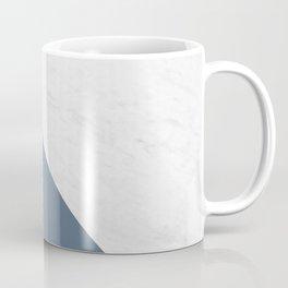 Marble Bluestone Diagonal Color block Coffee Mug