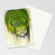 Python Art Stationery Cards