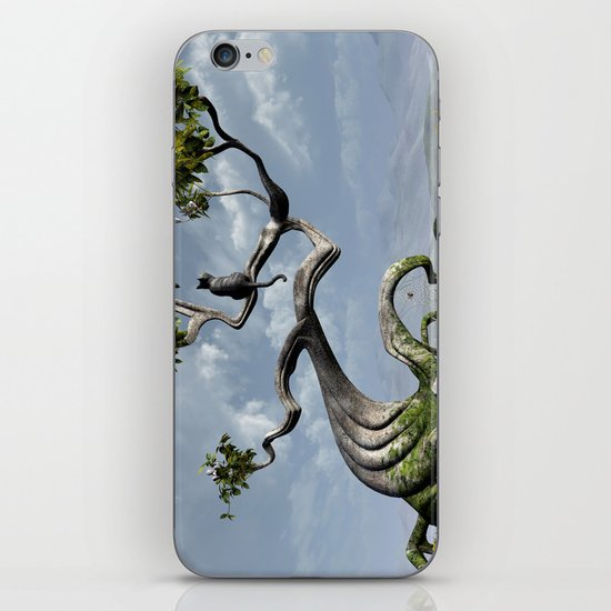 The Sitting Tree iPhone & iPod Skin