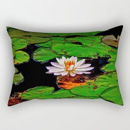 From the Lilypads Rectangular Pillow