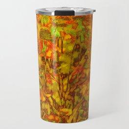 Winter Wildflowers Travel Mug