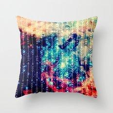 Galaxy Arrows Throw Pillow