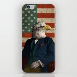 Official Portrait of Senator Silas Eagle iPhone Skin