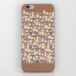 Willy Wonka Pattern iPhone Skin
