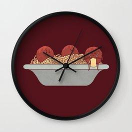 The Knitter Wall Clock