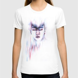 Blurred memory T-shirt