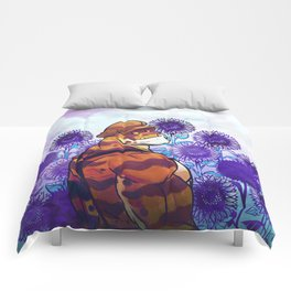 Sunflower Sanctuary Comforters