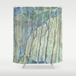 Entre árboles N° 2 (Among trees) Shower Curtain