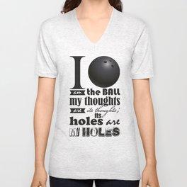 Sheldon Cooper's I am the Ball... Unisex V-Neck