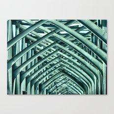 Bridge Ribs II Canvas Print