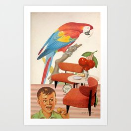Cerezo Sunday Art Print