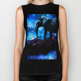 ELEPHANT DREAMS AND VISIONS AMONG THE STARS Biker Tank
