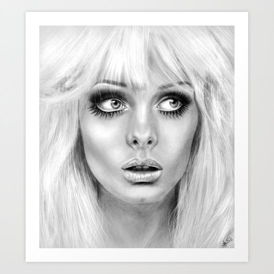 + BAMBI EYES + Art Print