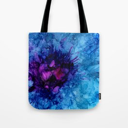 Amethyst Freeze Tote Bag