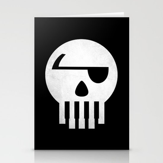 Music Piracy Stationery Cards
