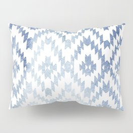 Indigo Ikat Print 3 Pillow Sham
