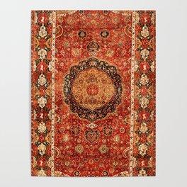 Seley 16th Century Antique Persian Carpet Poster