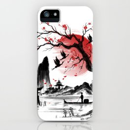 Japan dream iPhone Case