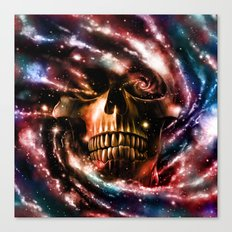 Space Skull II Canvas Print
