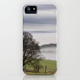 Misty Panorama iPhone Case