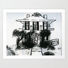 1012 Gregg Street Art Print