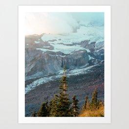 Wandering in the Wilderness of Mount Rainier National Park - Film Photograph Art Print
