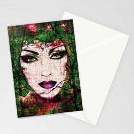 Forest Goddess by Lika Ramati Stationery Cards