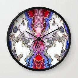 Silver linings Wall Clock
