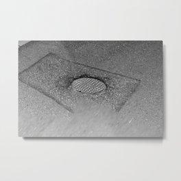 hole plate Metal Print