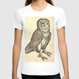 Antique Barn Owl T-shirt