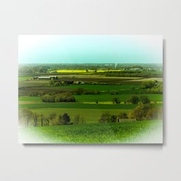 Billinge Lanscape Metal Print