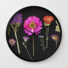 Plants + Leaves 2 Wall Clock
