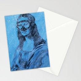 Urban Milano Italy Street art / Mona Lisa Stationery Cards