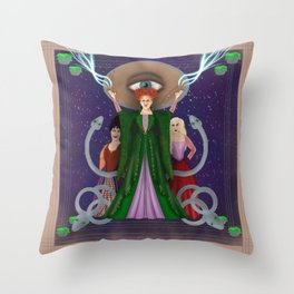 Put A Spell on You Throw Pillow
