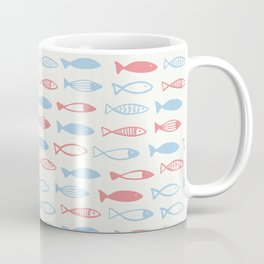 A flock of cute fish Coffee Mug