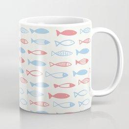 A flock of cute fish Coffee Mug