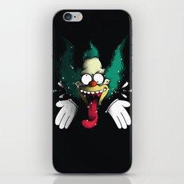Krusty Klown iPhone Skin