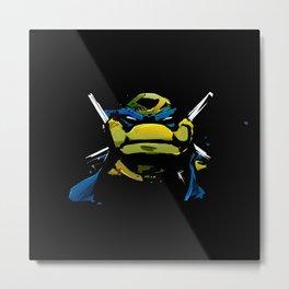 Ninja Turtle Metal Print