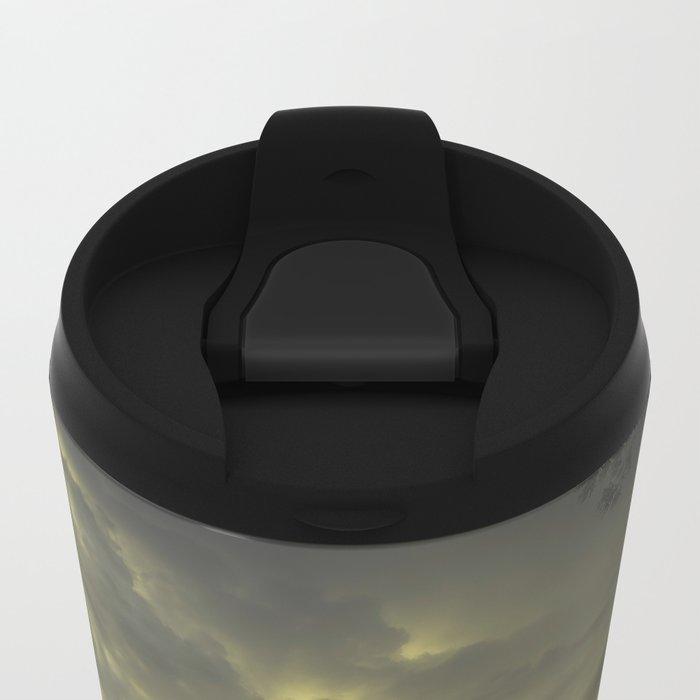 Peekaboo V Metal Travel Mug