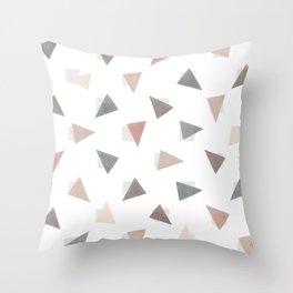 Confetti Shy Throw Pillow
