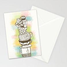 Stack O' Mugs Stationery Cards