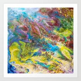 Calipso - Modern Abstract Art Print