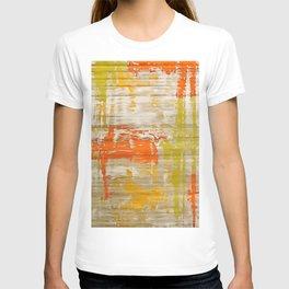 A Splash Of Citrus Grunge Abstract T-shirt