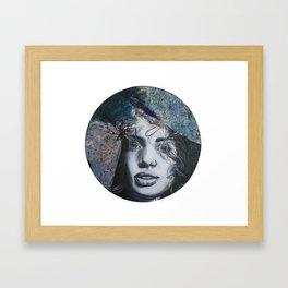 In the Night Sky Framed Art Print