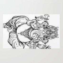 Lord Ganesha Rug