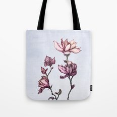 Spring Magnolias Tote Bag